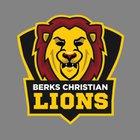 Berks Christian Lions Boys Varsity Basketball Winter 18-19 team photo.