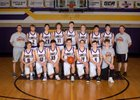 Campbell County Camels Boys Varsity Basketball Winter 18-19 team photo.