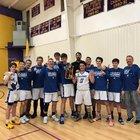 HEART HomeSchool  Boys Varsity Basketball Winter 18-19 team photo.
