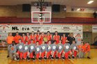 Richland County Tigers Boys Varsity Basketball Winter 18-19 team photo.