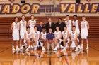 Amador Valley Dons Boys Varsity Basketball Winter 18-19 team photo.