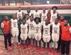 Eastside Rams Boys Varsity Basketball Winter 18-19 team photo.