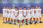 Hermiston Bulldogs Boys Varsity Basketball Winter 18-19 team photo.