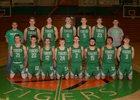 Valley Springs Tigers Boys Varsity Basketball Winter 18-19 team photo.