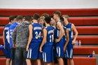 Heartland Mustangs Boys Varsity Basketball Winter 18-19 team photo.