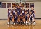 Connell Eagles Boys Varsity Basketball Winter 18-19 team photo.