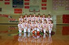 Niobrara County Tigers Boys Varsity Basketball Winter 18-19 team photo.