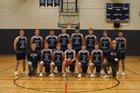 Lynden Christian Lyncs Boys Varsity Basketball Winter 18-19 team photo.