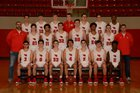 Farmington Cardinals Boys Varsity Basketball Winter 18-19 team photo.