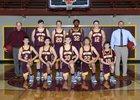 South Bend Indians Boys Varsity Basketball Winter 18-19 team photo.