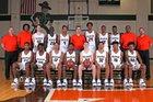 Naaman Forest Rangers Boys Varsity Basketball Winter 18-19 team photo.