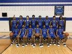 North Crowley Panthers Boys Varsity Basketball Winter 18-19 team photo.