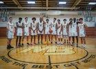 Mission Bay Buccaneers Boys Varsity Basketball Winter 18-19 team photo.
