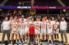 Fairview Warriors Boys Varsity Basketball Winter 18-19 team photo.