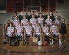 Holcomb Longhorns Boys Varsity Basketball Winter 18-19 team photo.