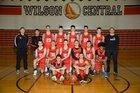 Wilson Lakemen Boys Varsity Basketball Winter 18-19 team photo.