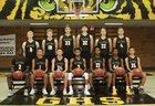 Gilbert Tigers Boys Varsity Basketball Winter 18-19 team photo.