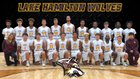 Lake Hamilton Wolves Boys Varsity Basketball Winter 18-19 team photo.
