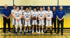 Mesilla Valley Christian School SonBlazers Boys Varsity Basketball Winter 18-19 team photo.