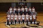 Bentonville Tigers Boys Varsity Basketball Winter 18-19 team photo.