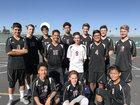 Paloma Valley Wildcats Boys JV Volleyball Spring 16-17 team photo.
