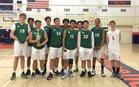 Eagle Rock Eagles Boys JV Volleyball Spring 16-17 team photo.
