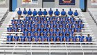 Lake Blue Streaks Boys Varsity Football Fall 15-16 team photo.