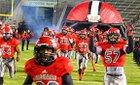 Horn Jaguars Boys Varsity Football Fall 15-16 team photo.