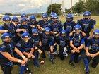 Woodland Cougars Boys Varsity Football Fall 15-16 team photo.