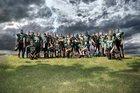 West Carroll Thunder Boys Varsity Football Fall 15-16 team photo.