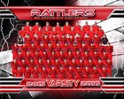 Rio Grande City Rattlers Boys Varsity Football Fall 15-16 team photo.
