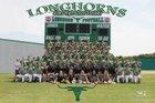 Jones Longhorns Boys Varsity Football Fall 15-16 team photo.