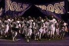 Holy Cross Tigers Boys Varsity Football Fall 15-16 team photo.