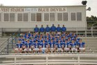 Falkville Blue Devils Boys Varsity Football Fall 15-16 team photo.