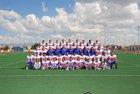 Los Lunas Tigers Boys Varsity Football Fall 15-16 team photo.