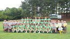 Eastern Alamance Eagles Boys Varsity Football Fall 15-16 team photo.