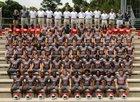 Manatee Hurricanes Boys Varsity Football Fall 15-16 team photo.