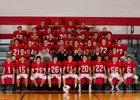 Vernon-Verona-Sherrill Red Devils Boys Varsity Football Fall 15-16 team photo.