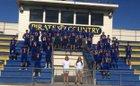 Crystal River Pirates Boys Varsity Football Fall 15-16 team photo.