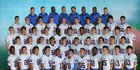 King's Academy Lions Boys Varsity Football Fall 15-16 team photo.