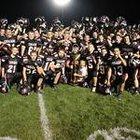 East Central Trojans Boys Varsity Football Fall 15-16 team photo.