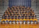 Northwest Grizzlies Boys Varsity Football Fall 15-16 team photo.