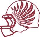 Sierra Lutheran Falcons Boys Varsity Football Fall 15-16 team photo.