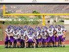 Queen Creek Bulldogs Boys Varsity Football Fall 15-16 team photo.