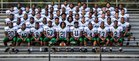 Mills University Studies Comets Boys Varsity Football Fall 15-16 team photo.