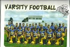 Union Knights/Damsels Boys Varsity Football Fall 15-16 team photo.