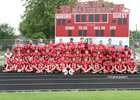 Tell City Marksmen Boys Varsity Football Fall 15-16 team photo.