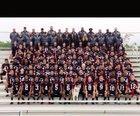 Centennial Huskies Boys Varsity Football Fall 15-16 team photo.