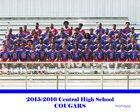 Central Cougars Boys Varsity Football Fall 15-16 team photo.