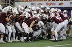 Dowling Catholic Maroons Boys Varsity Football Fall 15-16 team photo.